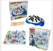 HAPPY FEET TWO 2: LET'S GO FISHING Board Game Penguins Disney Toys - $33.61
