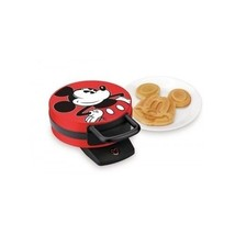 Mickey Mouse Waffle Maker Iron Electric Non Stick Griddle Pancake Disney... - €43,60 EUR