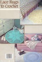 Lace Rugs to Crochet crochet patterns LA2269 - $9.27