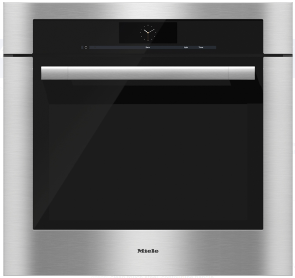 "Primary image for Miele H6780BP ContourLine M-Touch 30"" Single Electric Oven in Clean Touch Steel"