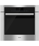 "Miele H6780BP ContourLine M-Touch 30"" Single Electric Oven in Clean Touch Steel - $4,930.15"