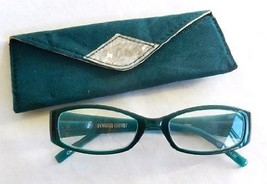 "Magnivision Reading Glasses with Case ""Ivory"" by Foster Grant +1.50 Blue - $14.99"
