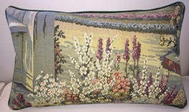 Vintage Italian Tapestry Lumbar Accent Pillow ~105 - $98.00