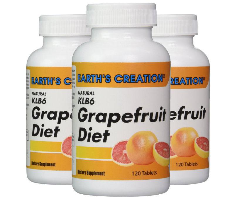 KLB6 Grapefruit Diet - Curbs  appetite & improves metabolism*