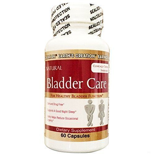 Bladder Care - Herbal Supplement with Pumpkin Seed  - by Earth's Creation