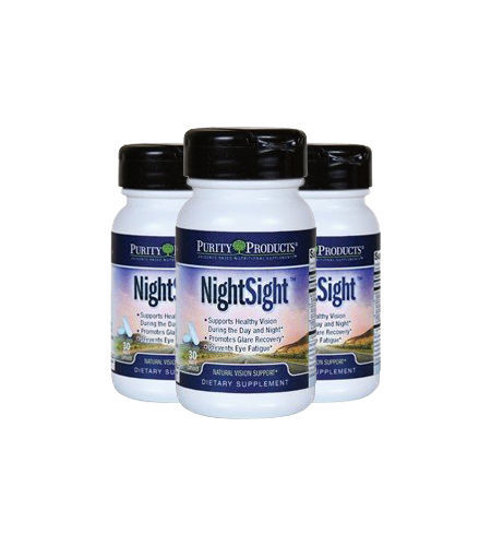 Night Sight with Black Currant Extract Lutein and Zeaxanthin by Purity Products