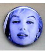 Marilyn Monroe Pinback Button 1-1/2 inch Round - $3.95