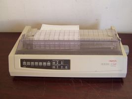 okidata 321 turbo wide format dot matrix printer - $140.00
