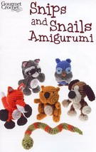 Snips and Snails Amigurumi Gourmet Crochet Pattern NEW - 30 Days To Shop & Pay! - $8.07