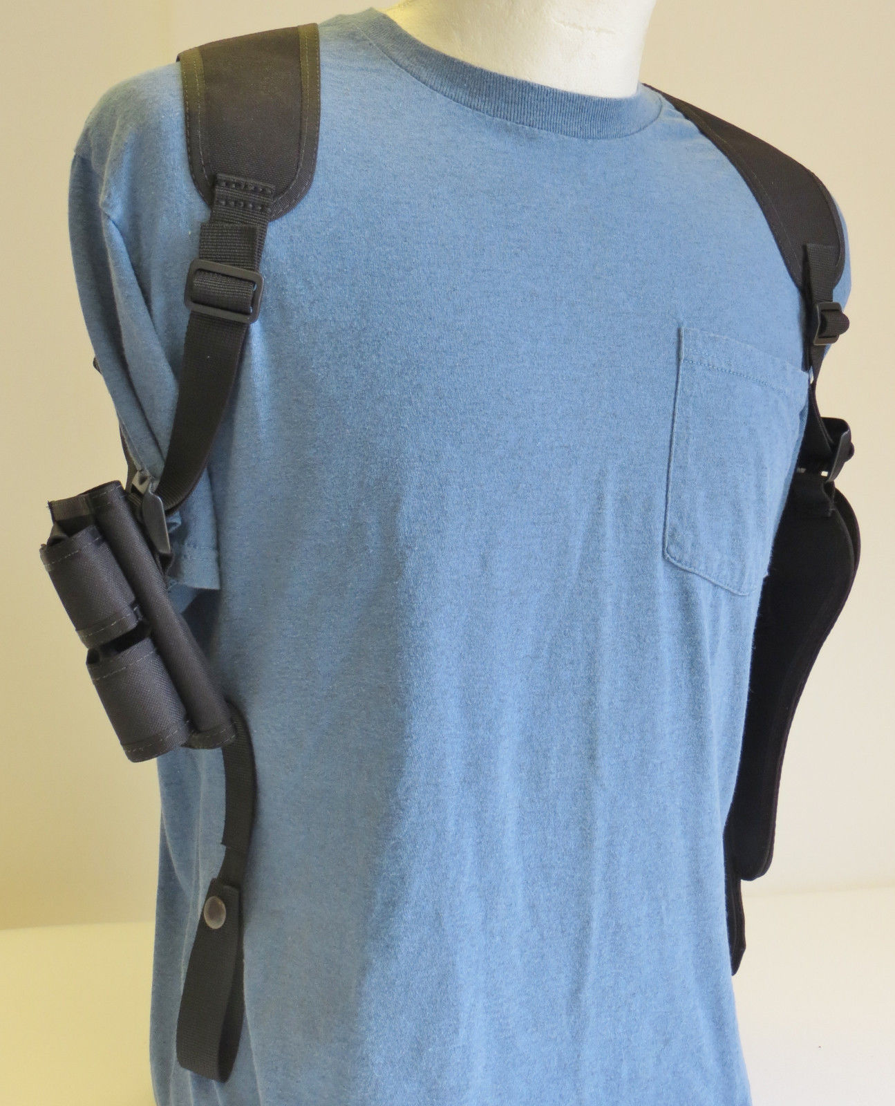 Gun Shoulder Holster with Ammo Pouch TAURUS and 46 similar items