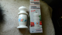 CORNING COORDINATES SYMPHONY PEPPER MILL NEW OLD STOCK IN BOX FREE USA S... - $23.36