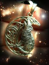 Haunted Necklace Lycan Wolf Magnifier 70,000X Secret Ooak Magick Magickal - $287.77