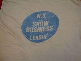 Vintage Durene Jersey News Sports 1980 Olympics NY Show Business T Shirt... - $44.41