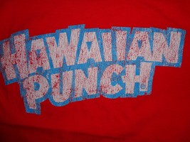 Red Hawaiin Punch T Shirt S Free US Shipping - $15.41