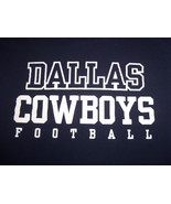 NFL Dallas Cowboys Team Apparel Football Navy Graphic T Shirt - M - $17.17
