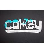 Champion Oakley Sunglasses & Apparel Brand Black Graphic Print T Shirt - L - $15.45