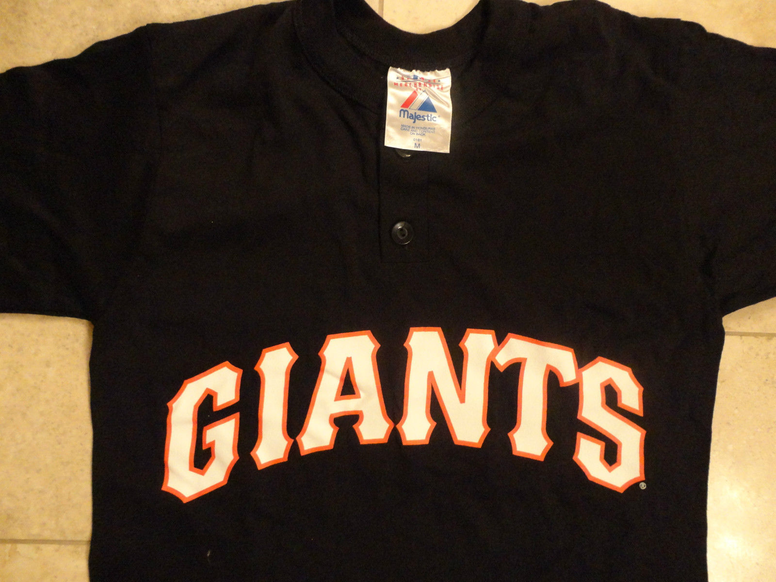 4fc34971 Majestic New York Giants Nfl Black T Shirt and 50 similar items
