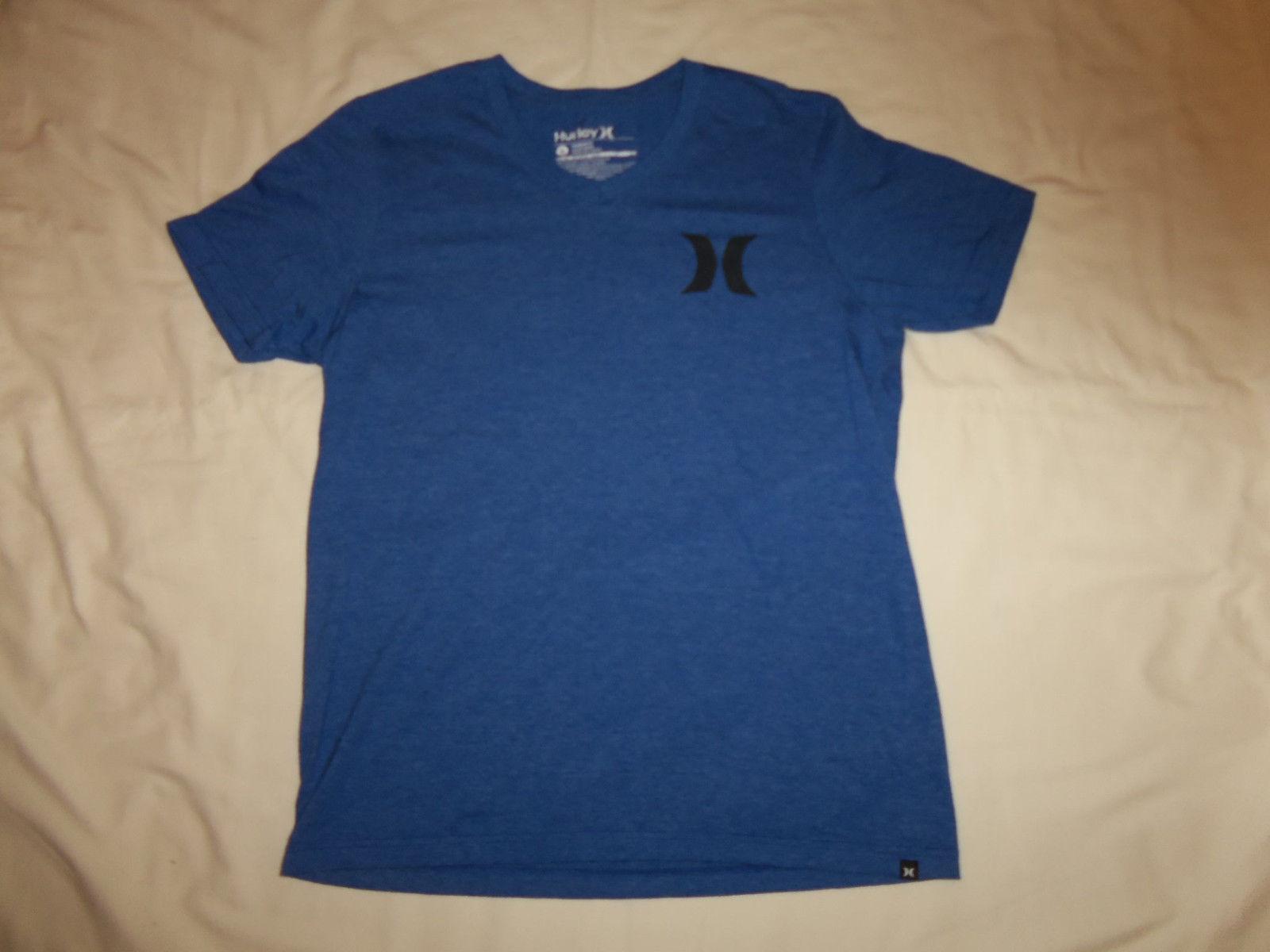 efe8f46f6 ... Hurley Clothing Surf Brand Blue 50/50 Graphic Print T Shirt - M
