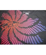 VANS Off The Wall Black T Shirt Adult L Free US Shipping - $17.03