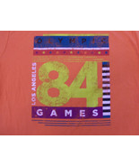 Old Navy Olympic Games '84 Los Angeles Orange 50/50 Graphic Print T Shir... - $18.65