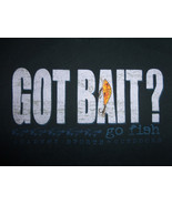 """Got Bait? Go Fish"" Academy Sports & Outdoors Black Graphic Print T Shir... - $17.17"
