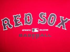 MLB Boston MA Red Sox Baseball Team Logo Red Graphic Print T Shirt L - $17.17