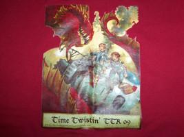 TSLAC 2009 Time Twistin' TTR Texas Teens Read! Red Graphic Print T Shirt... - $17.17