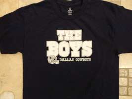 BLUE  Dallas Cowboys THE BOYS  NFL ADULT M T Shirt EXCELLENT FREE US SHI... - $18.65