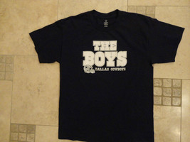 BLUE  Dallas Cowboys THE BOYS  NFL ADULT M T Shirt EXCELLENT FREE US SHIPPING image 2