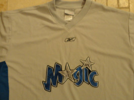 ORLANDO MAGIC SEWN REEBOK V NECK SHOOTING WARMUP NBA JACKET 2XL NICE FRE... - $32.20