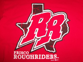 Minor League Baseball Frisco Roughriders Red Graphic Print TShirt M - $17.17