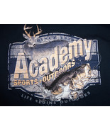 Academy Sports & Outdoors Store Retail Navy Longsleeve Graphic Print TSh... - $18.16