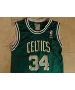 GREEN BOSTON CELTICS NBA PIERCE  #34 YOUTH M REEBOK JERSEY FREE US SHIPPING - $20.14