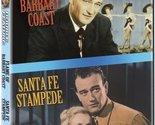 Flame of Barbary Coast/Santa Fe Stampede (John Wayne Double Feature) [DVD]