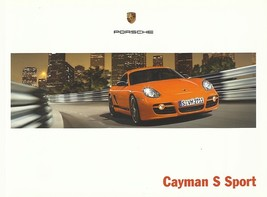 2008 Porsche CAYMAN S SPORT EDITION brochure catalog US 08 - $20.00