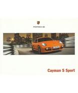 2008 Porsche CAYMAN S SPORT EDITION brochure catalog US 08 - $20.00