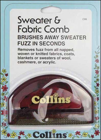 3523 d fuss it sweater and fabric comb