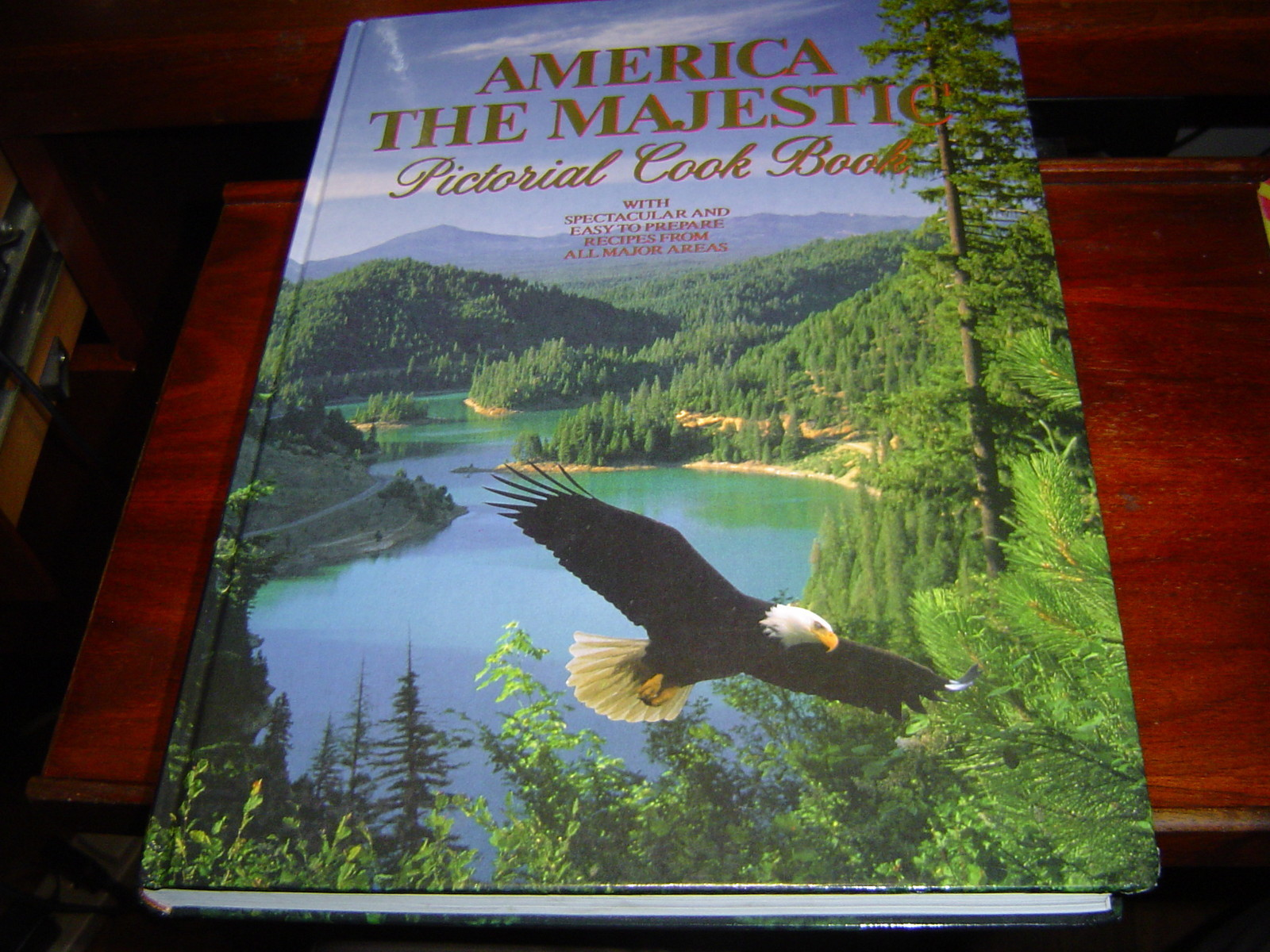 Primary image for AMERICA THE MAJESTIC PICTORIAL COOK BOOK (1981) LARGE HARDCOVER