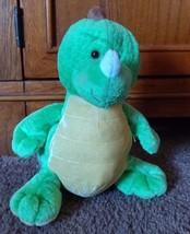 "Ganz Webkinz Key Lime Dino Plush Toy 8"" Stuffed Animal Green Dinosaur No Code - $5.89"