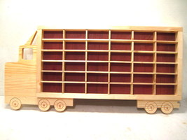Hot Wheels, Matchbox, Boys, Wood, Truck, Displa... - $85.00