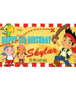 Jake and the Neverland Pirates Personalized Birthday Banner Party Decora... - $34.95