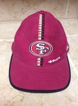 """San Francisco 49ers Cotton Baseball Hat, NFL Pro Line Authenic, Size 7 5/8"""" - $18.55"""