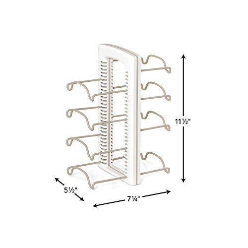 YouCopia StoreMore Adjustable WrapStand Kitchen Wrap Organizer, White