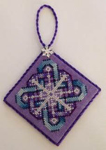 Midnight Snowflake cross stitch chart Frony Ritter Designs  - $4.00