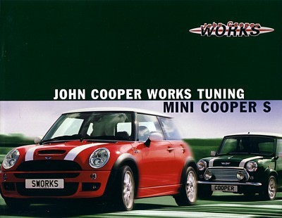 2004 Mini John Cooper Works Tuning Brochure And 50 Similar Items