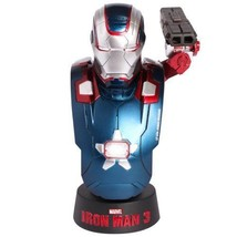 NEW HOT TOYS BUST Iron Man 3 IRON PATRIOT 1/6 Bust Figure from Japan - $81.49