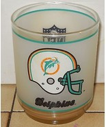Coffee Cup Glass Miami Dolphins - $9.50