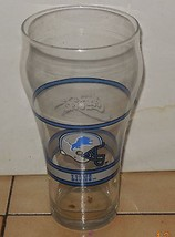 Coffee Cup Glass Detroit Lions Coca Cola - $9.50