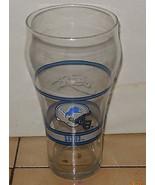 Coffee Cup Glass Detroit Lions Coca Cola - $9.50