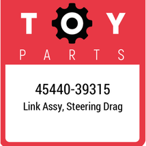 45440-39315 Toyota Link Assy Steering, New Genuine OEM Part - $114.19